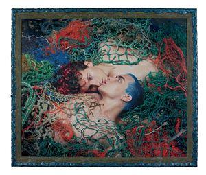 La pêche miraculeuse (Pierre et Filip) by Pierre et Gilles contemporary artwork photography