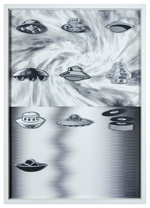 Hard Boiled Daydream ( Collage Roman ) #2   水煮白日夢(羅馬拼貼)#2. by Teppei Kaneuji contemporary artwork