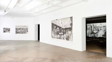 Contemporary art exhibition, William Kentridge, City Deep at Goodman Gallery, Johannesburg