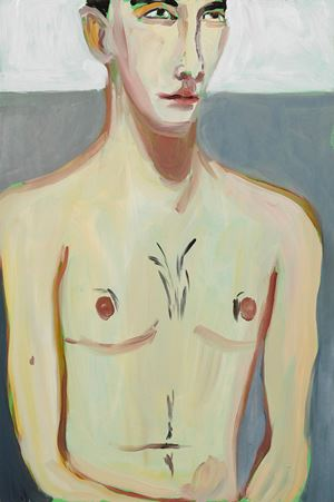 Herb II by Chantal Joffe contemporary artwork