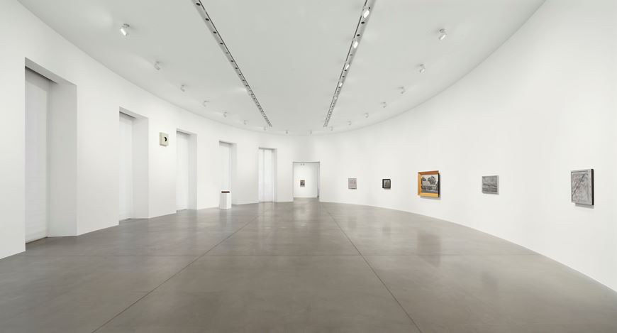 Exhibition view: Richard Artschwager, Gagosian, Rome (14 January–24 April 2021). Artwork © 2020 Richard Artschwager / Artists Rights Society (ARS), New York. Courtesy Gagosian. Photo: Matteo D'Eletto, M3 Studio.