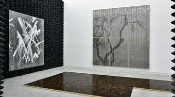 Contemporary art exhibition, Gregor Hildebrandt, Alle Schläge sind erlaubt at Almine Rech, Paris
