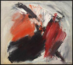 Composición by José Guerrero contemporary artwork