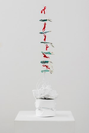 Christmas Tree by Paul Pascal Thériault contemporary artwork