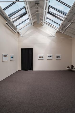 Exhibition view: Luke Folwer,Index Cards and Letters, The Modern Institute, Osborne Street, Glasgow International (11 June 2021–Ongoing). Courtesy the Artist and The Modern Institute/Toby Webster Ltd, Glasgow. Photo: Patrick Jameson.