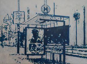 Wartestelle (2) by Heribert C. Ottersbach contemporary artwork