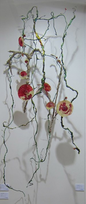 Floral Vine by Fay Ming contemporary artwork