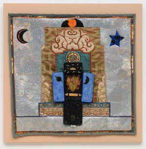 The Secret Heart by Betye Saar contemporary artwork textile