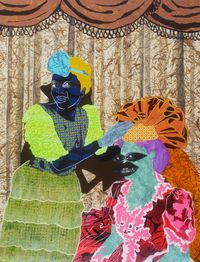 Crowning Ceremony by Cynde Jasmin Coleby contemporary artwork painting, works on paper