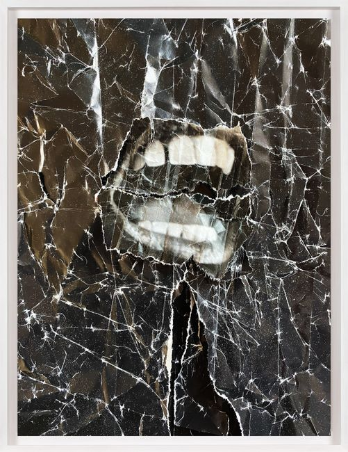 Untitled (Black) by Christian Marclay contemporary artwork
