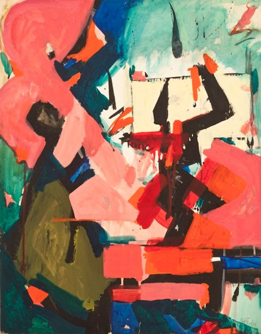 Abstract Force II by Audrey Flack contemporary artwork