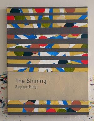 The Shining / Stephen King by Heman Chong contemporary artwork