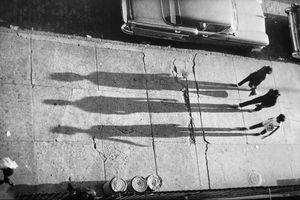 Three Shadows by Adger Cowans contemporary artwork