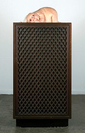 The Listener by Patricia Piccinini contemporary artwork sculpture