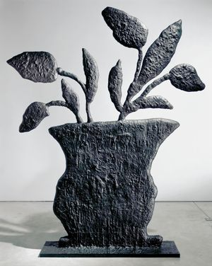 PLANT by Donald Baechler contemporary artwork