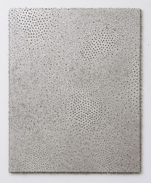 Silver / Silver #1 by Lars Christensen contemporary artwork