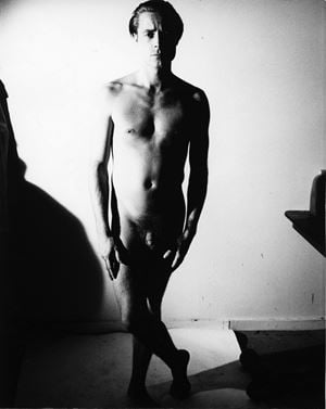 MALE NUDE by Andy Warhol contemporary artwork