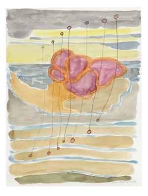 Ledsagare och havet by Carin Ellberg contemporary artwork