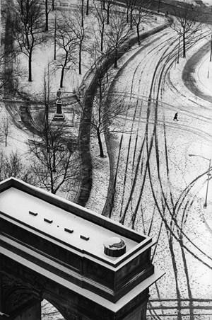 Washington Square Arch by André Kertész contemporary artwork