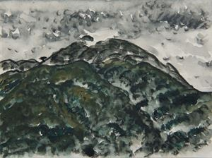 Sulfur Mountain II by Lin Chuan-Chu contemporary artwork