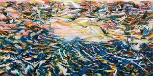 吟唱的河流3 The Singing River 3 by Suling Wang contemporary artwork