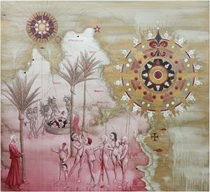 Whariwharangi by Roger Mortimer contemporary artwork