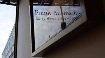 Contemporary art exhibition, Frank Auerbach, Early Works 1954–1978 at Offer Waterman, London