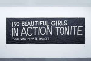 150 beautiful girls in action tonite by Tomoo Gokita contemporary artwork
