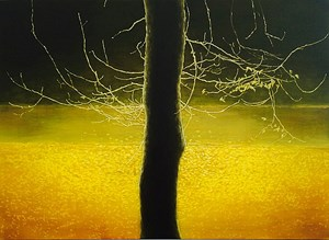 Park nocturne by Andrew Browne contemporary artwork