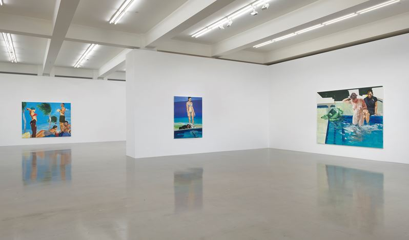 Exhibition view: Eric Fischl, Complications From An Already Unfulfilled Life, Sprüth Magers, Los Angeles (19 June–30 August 2019). Courtesy Sprüth Magers.