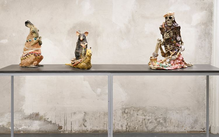 Exhibition view: Wietske van Leeuwen & Carolein Smit, Brutto Gusto, Berlin (9 November 2018–12 January 2019). Courtesy Brutto Gusto Gallery.