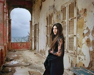 Lea, Beirut, Lebanon by Rania Matar contemporary artwork
