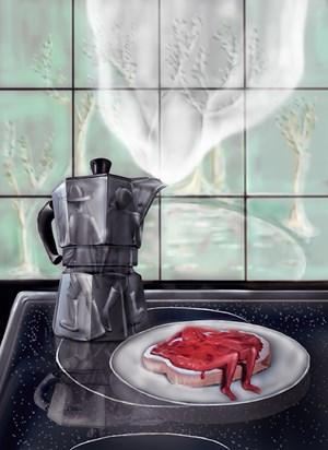 Daily Jam by Louisa Gagliardi contemporary artwork