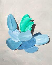 pool by Ina Jang contemporary artwork painting, photography, print, mixed media