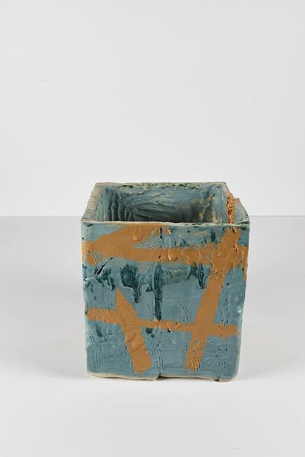 Untitled Ugly Pot by Rashid Johnson contemporary artwork