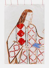 Niña Mapuche by Cecilia Vicuña contemporary artwork print