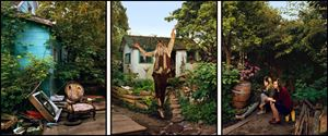 Leaping Hermit by Rodney Graham contemporary artwork