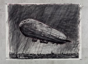 Untitled (Drawing for Wozzeck 66) by William Kentridge contemporary artwork