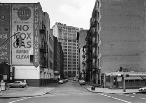 Leonard Street, New York, Tribeca 1978 by Thomas Struth contemporary artwork