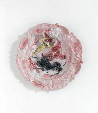 Bullfight by Lucio Fontana contemporary artwork sculpture, ceramics