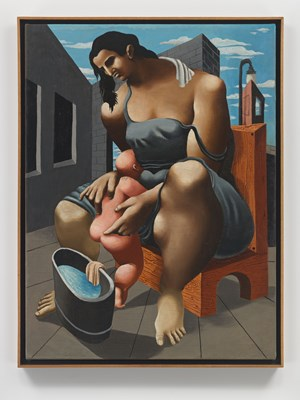 Mother and Child by Philip Guston contemporary artwork painting