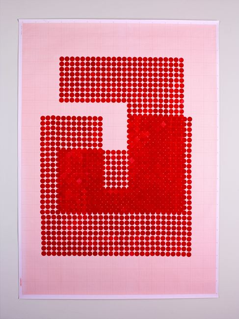Switch (Series 2: Number 5) by Lubna Chowdhary contemporary artwork