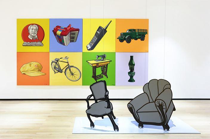 Exhibition view: Li Bangyao, Ecstasy,Tang Contemporary Art, Bangkok(4 February–13 March 2021). Courtesy Tang Contemporary Art.
