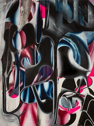 Koloss by Sebastian Gögel contemporary artwork