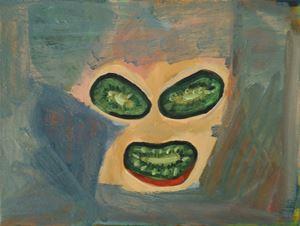 Glass-eyed Kiwi by Layla Rudneva-Mackay contemporary artwork