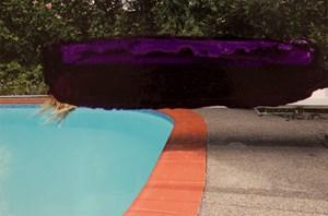 Paint Shadower (purple rain) by Marie Le Lievre contemporary artwork