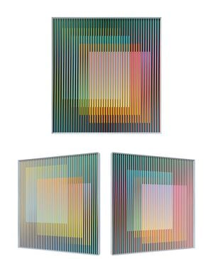 Physichromie 1815 by Carlos Cruz-Diez contemporary artwork