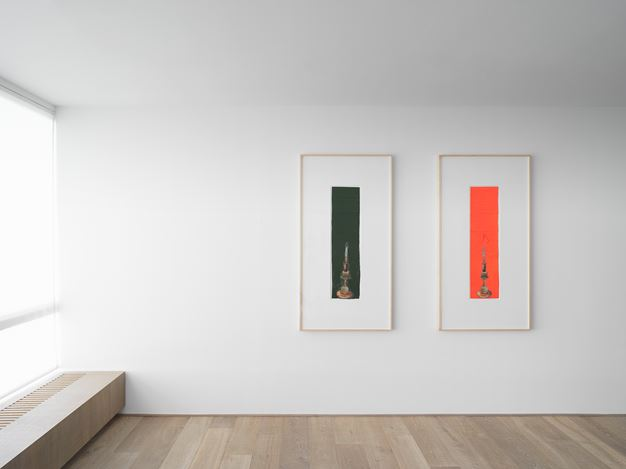 Exhibition view: Sterling Ruby, DRFTRS,Xavier Hufkens, 107 rue St-Georges, Brussels (7 September–20 October 2018). Courtesy the artist and Xavier Hufkens.