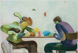 Every Day When I Eat Wontons by Zhai Liang contemporary artwork