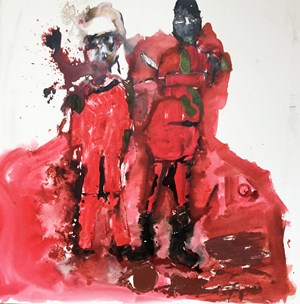 Fuckinn Atrocity - The beheading of James Foley by I.S by Locust Jones contemporary artwork